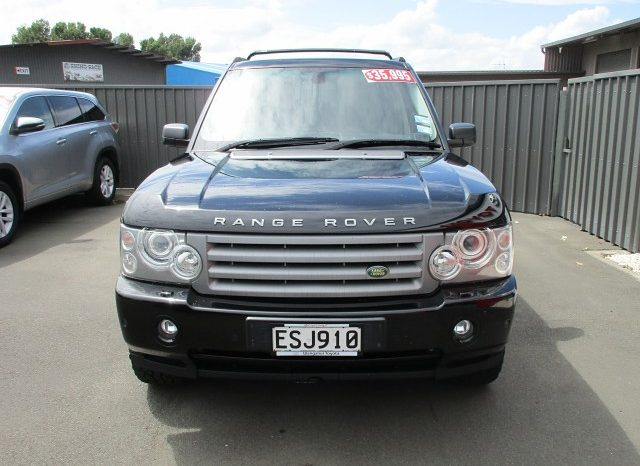 2008 Land Rover Range Rover full